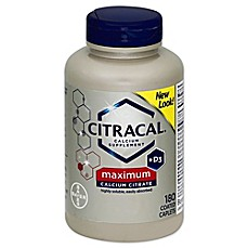 image of Citracal® Maximum 80-Count Calcium Supplement Coated Tablets