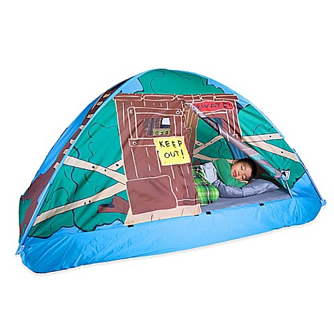 Pacific Play Tents Tree House Twin Bed Tent Bed Bath