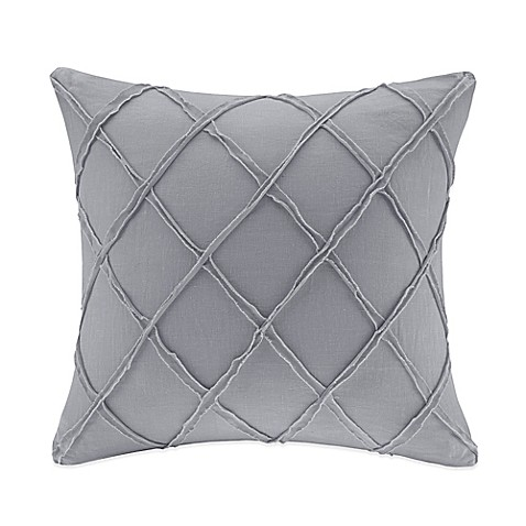 Harbor House Linen Square Throw Pillow in Grey - Bed Bath & Beyond