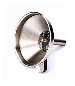 Embudo con colador de acero inoxidable de 236.58 mL ( 8 oz)