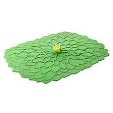image of Charles Viancin® Dahlia™ Oblong Silicone Cover in Green