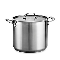 image of Tramontina® Gourmet Stainless Steel Covered Stock Pot