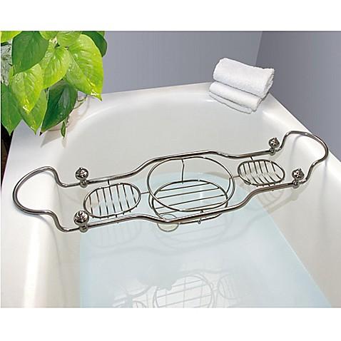 Taymor® Imperial Bathtub Caddy with Antique Nickel Finish - Bed Bath ...