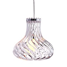 image of Zuo® Pure Tsunami Ceiling Lamp in Clear