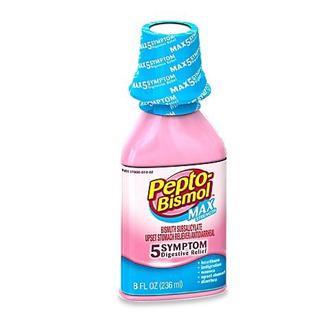 Pepto Bismol 8 Oz Maximum Strength Liquid Bed Bath Beyond