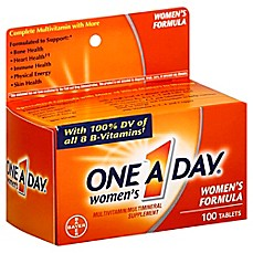 image of One A Day Women's 100-Count Multivitamin & Multimineral Supplement Tablets