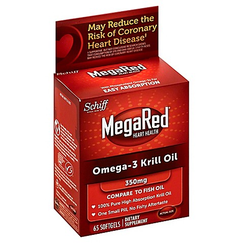 Schiff 60 count mega red krill oil bed bath beyond for Mega red fish oil