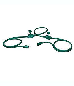 Extensión eléctrica para exteriores Stanley® PowerMax, 7.62 m en verde