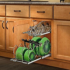 image of Rev-A-Shelf® 2-Tier Cookware Organizer