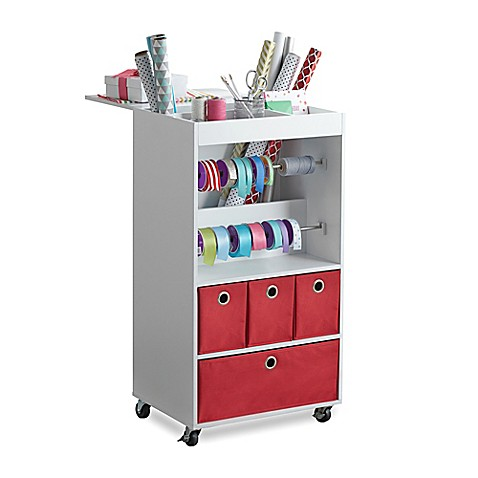 Real Simple 174 Gift Wrap Cart Bed Bath Amp Beyond