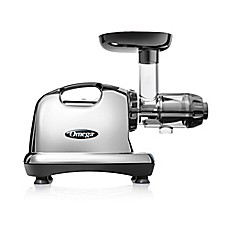 image of Omega® Model J8006 Nutrition Center HD Juicer in Chrome/Black