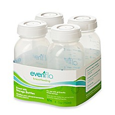 image of Evenflo® Feeding 4-Count 5 fl. oz. Milk Storage Bottles