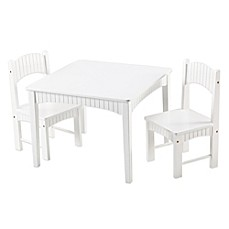 Tree House Lane Table and 2 Chairs Set in White  sc 1 st  buybuy BABY & Table u0026 Chair Sets | buybuy BABY