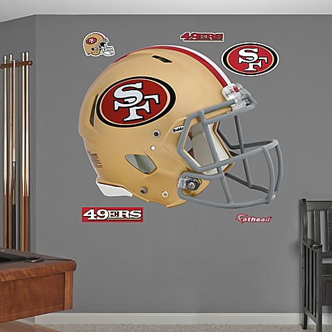 Buy Fathead 174 Nfl San Francisco 49ers Revolution Helmet