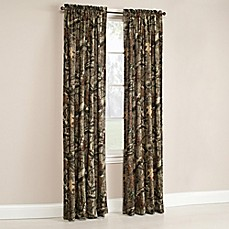 image of Mossy Oak® Break Up Infinity Window Curtain Panel and Valance