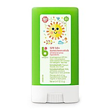image of Babyganics® 0.47 oz. 50+ SPF Pure Mineral Sunscreen Stick