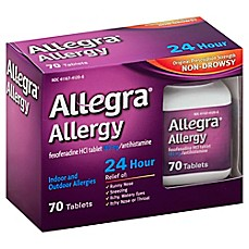 image of Allegra® Allergy 24-Hour Relief 70-Count Tablets