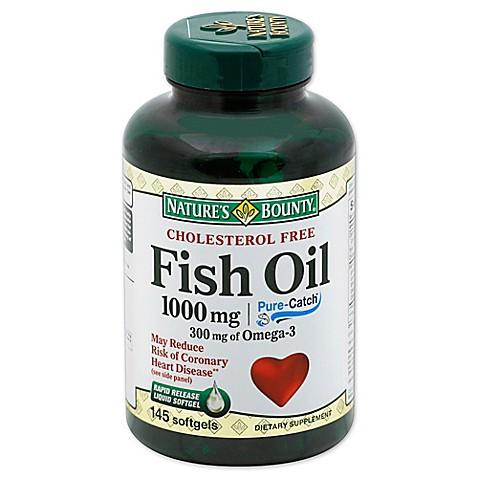 Nature S Bounty Fish Oil Benefits