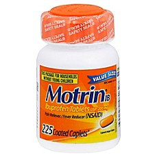 image of Motrin® IB Ibuprofen Tablets 225-Count Caplets