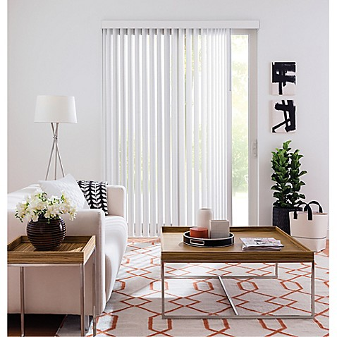 Buy Real Simple 174 Vertical 66 Inch X 84 Inch Blind In Snow