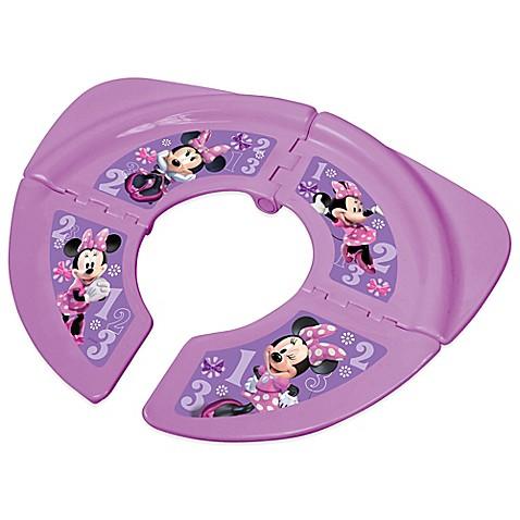 Disney® Minnie Folding Travel Potty Seat with Storage Bag