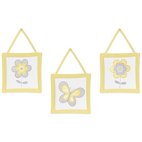 Buy Sweet Jojo Designs Mod Garden 3 Piece Wall Hanging Set
