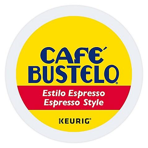 Keurig Reg K Cup Pack 18 Count Café Bustelo Espresso Style Coffee