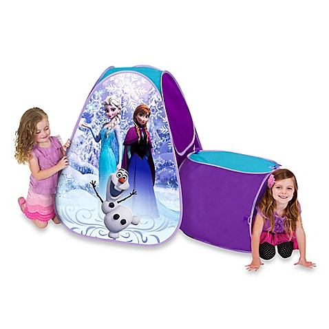 Disneyu0026reg; Frozen Hide About Play Tent with Tunnel  sc 1 st  Bed Bath u0026 Beyond & Disney® Frozen Hide About Play Tent with Tunnel - Bed Bath u0026 Beyond