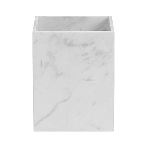 bathroom wastebasket. image of Camarillo Marble Wastebasket Bath Cans  Trash Can Step On more Bed