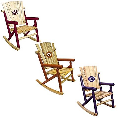 NCAA Rocking Chair