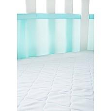 image of airmesh crib mattress pad