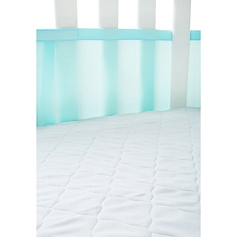 BreathableBaby® AirMesh Crib Mattress Pad