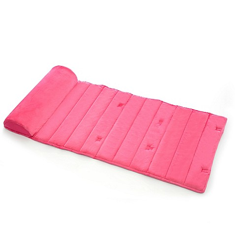 My First Toddler Nap Mat In Pink Buybuy Baby