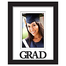 image of Grad 4-Inch x 6-Inch Photo Frame