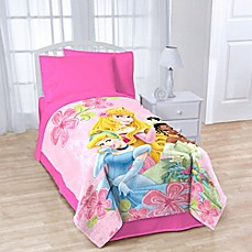 Image Of Disney® Princesses Fleece Character Throw