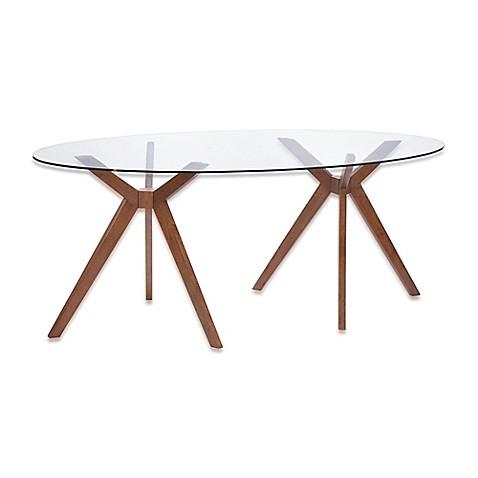 Zuo Modern Buena Vista Dining Table In Walnut Bed Bath