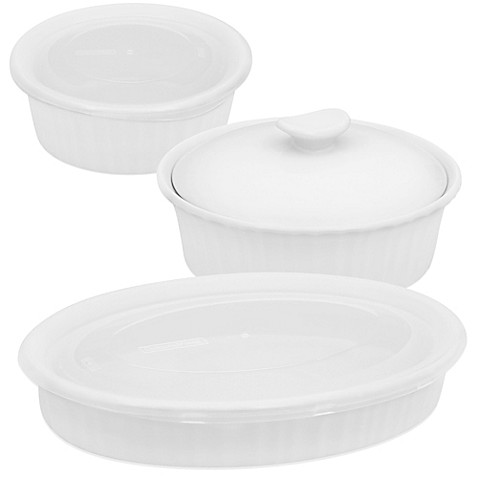 Corningware 174 French White 174 Bakeware Bed Bath Amp Beyond
