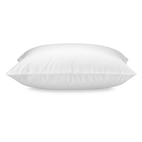 image of claritin ultimate allergen barrier embossed pillow protector