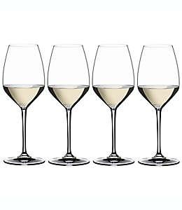 Copas de vino de vidrio Riesling Riedel® Heart to Heart, Set de 4 pzas.