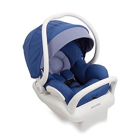 maxi cosi mico max 30 white collection infant car seat in blue base bed bath beyond. Black Bedroom Furniture Sets. Home Design Ideas