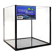 image of Deep Blue Professional 2.2-Gallon Rimless Cube Tank