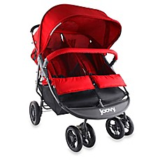 image of Joovy® ScooterX2 Double Stroller in Red
