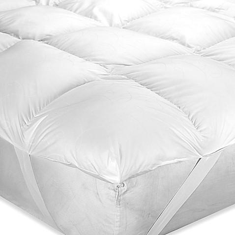 image of barbara barry down illusion mattress cushion - Air Mattress Bed Bath And Beyond