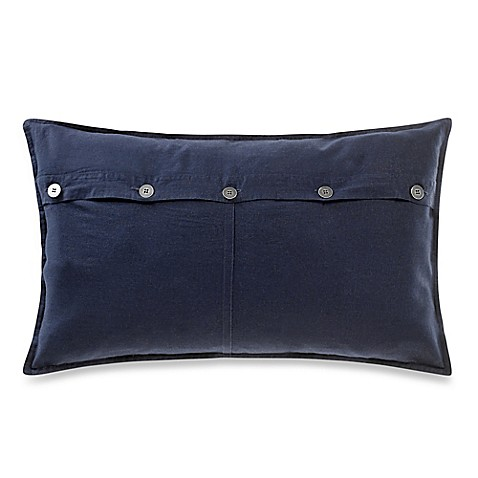 Kenneth Cole Reaction Home Mineral Button Oblong Throw
