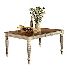 image of Hillsdale Wilshire Rectangle Dining Table with 2 Leaves