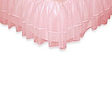 image of Tadpoles™ by Sleeping Partners Tulle Triple Layer Full Bed Skirt in Pink