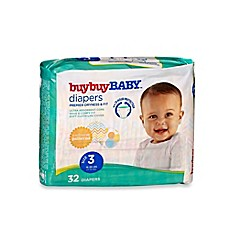 image of buybuy BABY™ 32-Count Size 3 Jumbo Pack Diapers