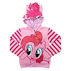 image of My Little Pony® Pinkie Pie Girls Embellished Hoodie