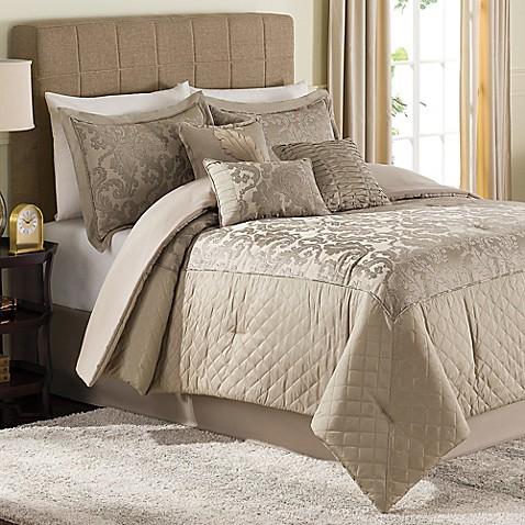 Jeneve 7 Piece Comforter Set Bed Bath Beyond