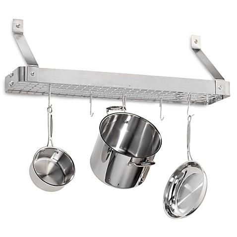 Wall Hanging Pot Rack shop for wall pot racks & draining mats - bed bath & beyond